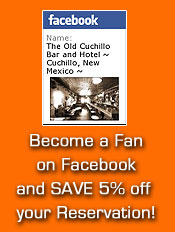 The Old Cuchillo Bar Facebook Fan Page